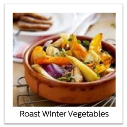 Recipe for Roast Winter Vegetables using the Philips Airfryer XL