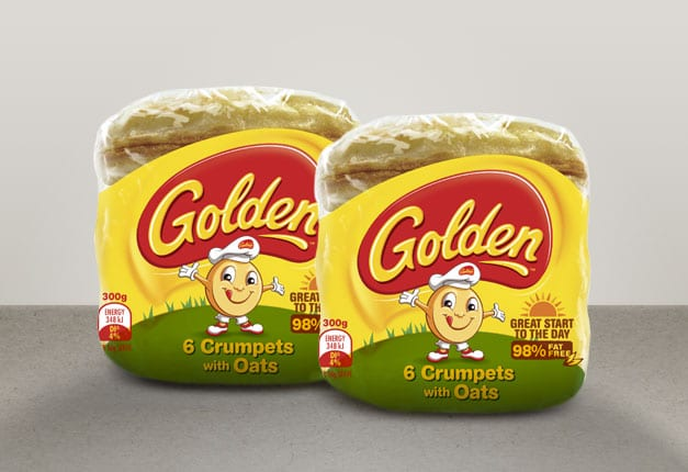NEW Golden Crumpets with Oats