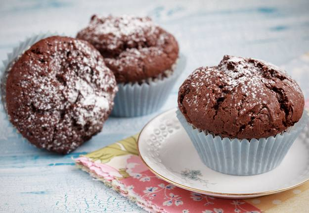 Guilt-free chocolate cupcakes