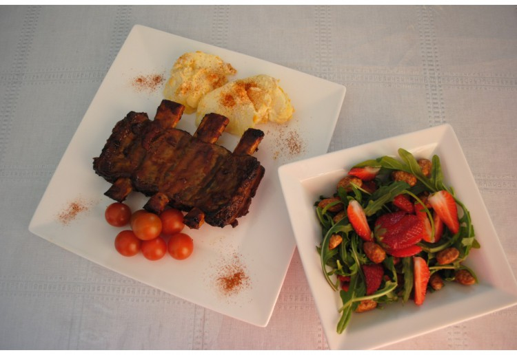 McCormick inspired sticky ribs.