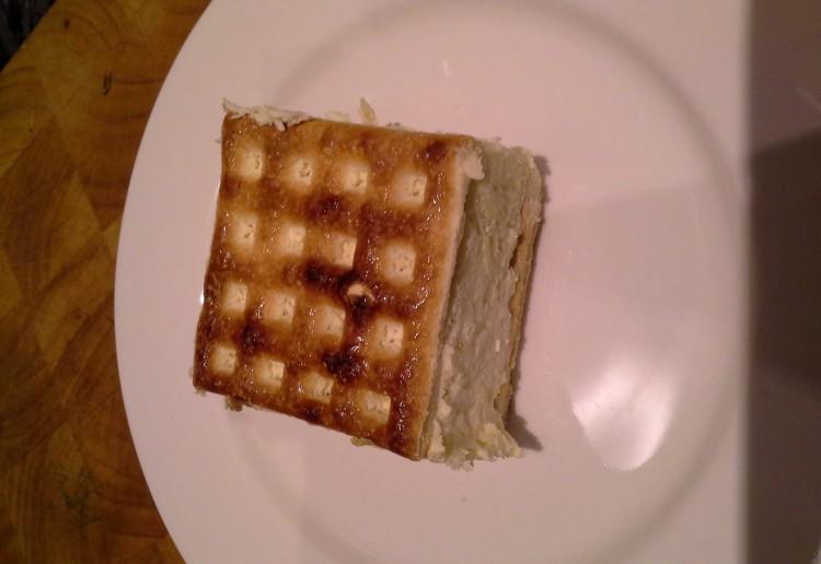 Frozen Cheesecake Sandwich