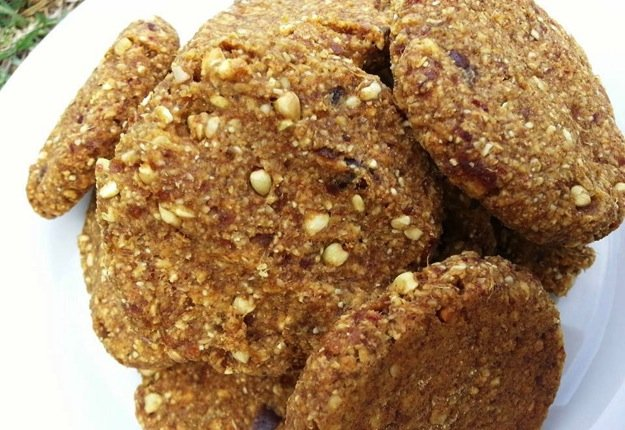 Healthy Ginger Snap Biscuits