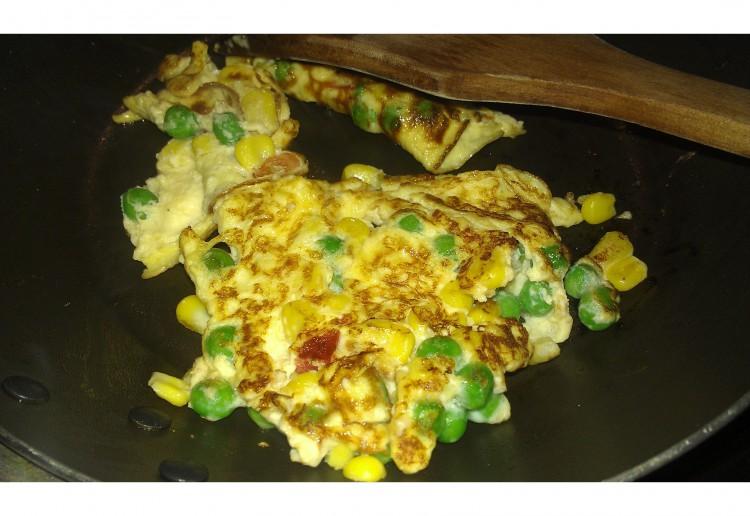 Baby omelette
