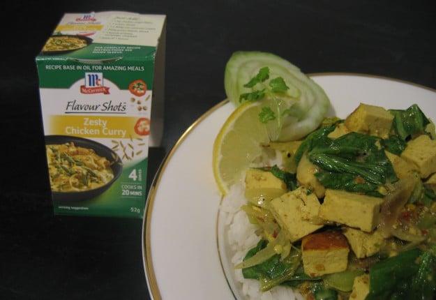 McCormick Tofu Curry