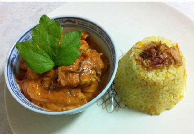 Butter Chicken with Rice
