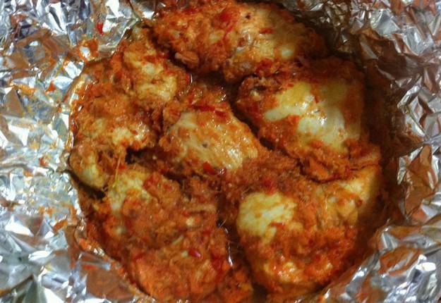 Baked Spicy Chicken