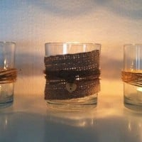 Beach Style Candle Votives