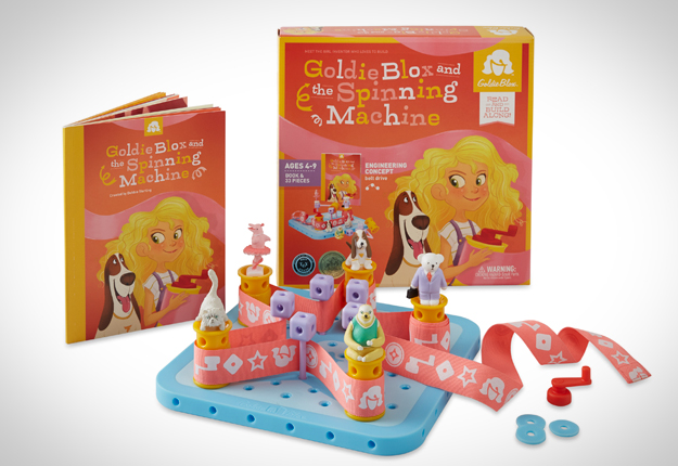 WIN 1 of 5 GoldieBlox packs!