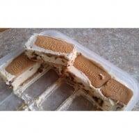 Malty Ice Cream Slice