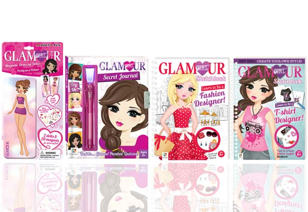 WIN 1 of 10 Glamour Girl packs!