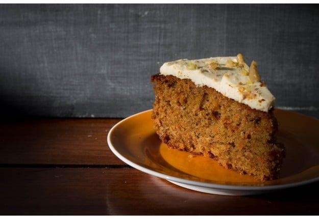 Carrot & Walnut Cake (A Healthier alternative)