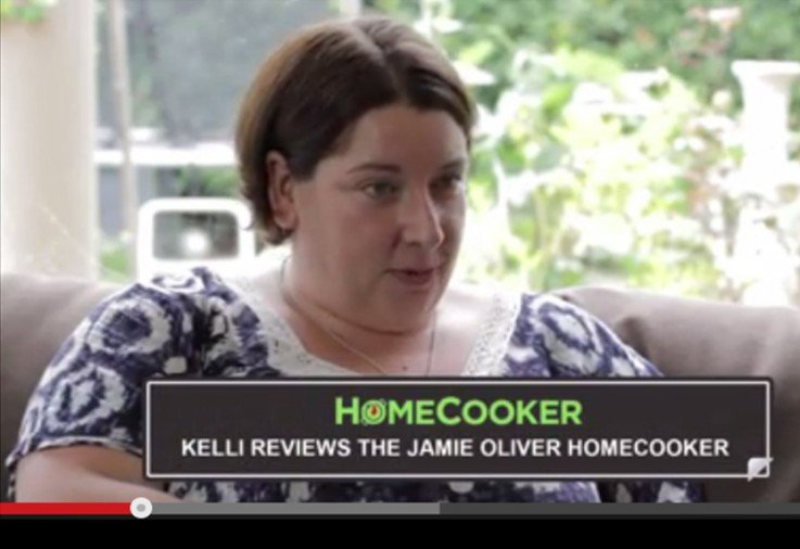 Kelli reviews the Jamie Oliver HomeCooker