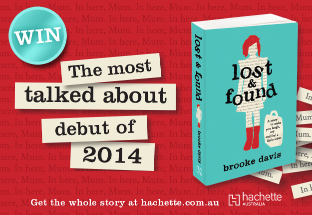 WIN 1 of 15 copies of Lost & Found by Brooke Davies