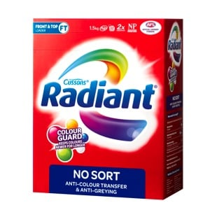 Box of Radiant No Sort promoting Radiant No Sort Product Review