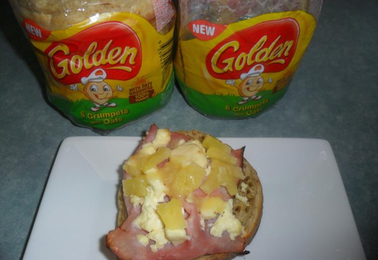 Hawaiian Golden® Crumpets with Oats