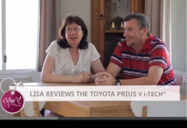 Lisa reviews the Toyota Prius V