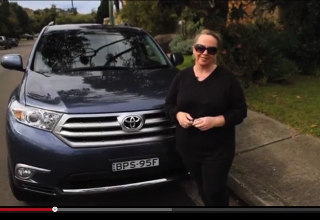rachelvk reviewed TOYOTA Kluger Grande