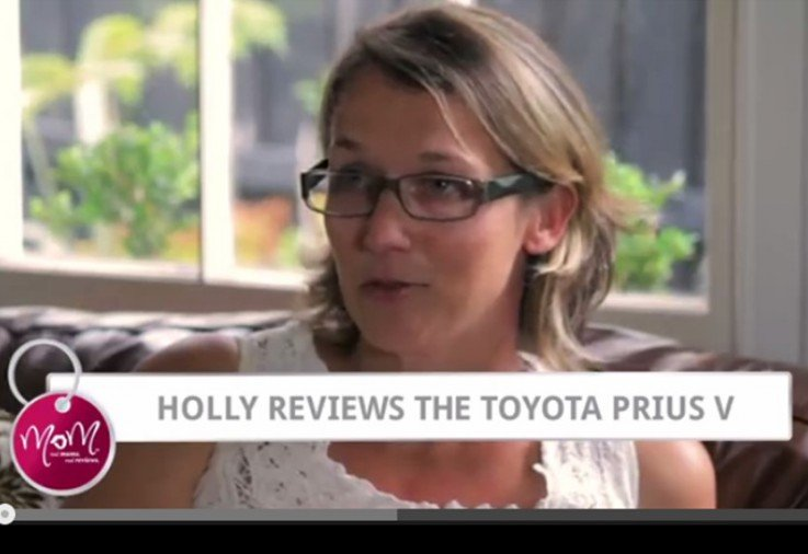 Holly reviews the Toyota Prius V