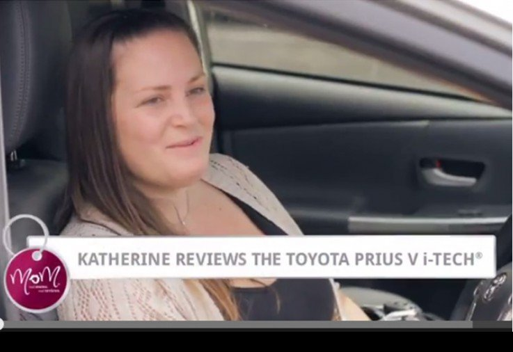Katherine reviews the Toyota Prius V