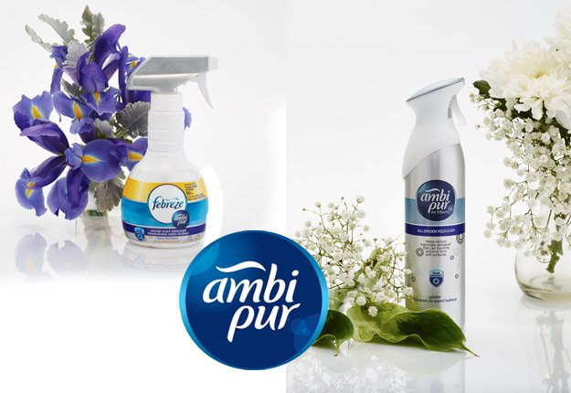 WIN 1 of 10 Ambi Pur Allergen Reducer prize packs