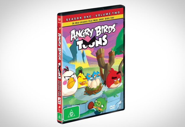WIN 1 of 17 Angry Birds Season 1 Volume 2 DVDs!