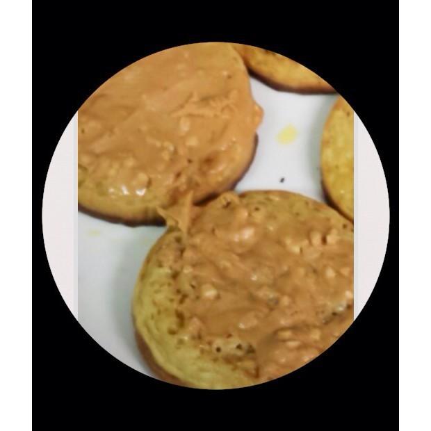 Peanut Honey Crumpets