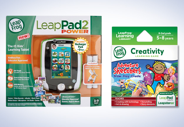 Win 1 of 2 LeapFrog Multimedia packs