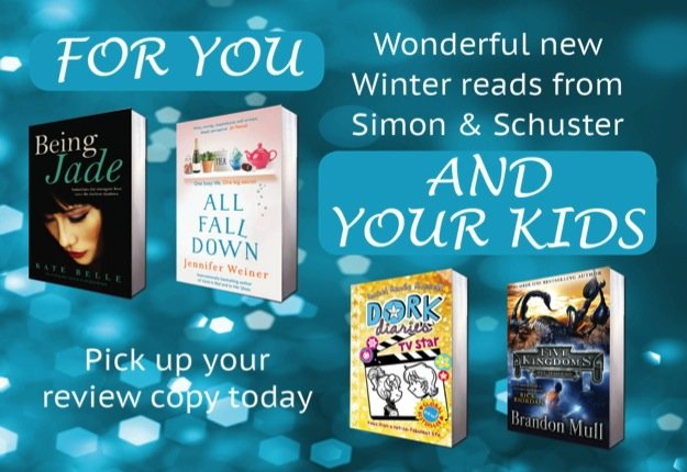 New releases from Simon & Schuster