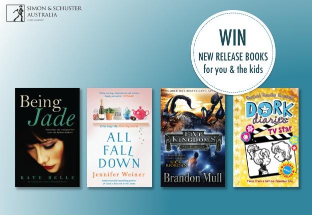 WIN 1 of 10 Simon & Schuster Australia Book Packs!