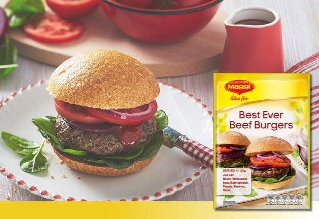 Maggi Best Ever Beef Burgers