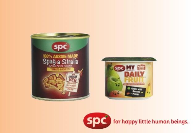 SPC Sneaky Veg & SPC My Daily Fruit