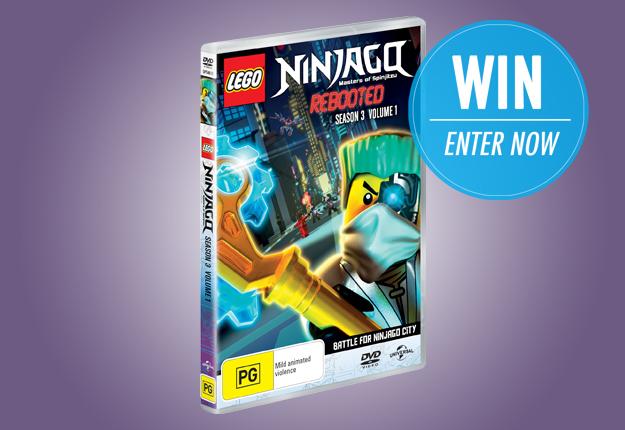 WIN 1 of 25 LEGO Ninjago Season 3 Volume 1 DVDs!