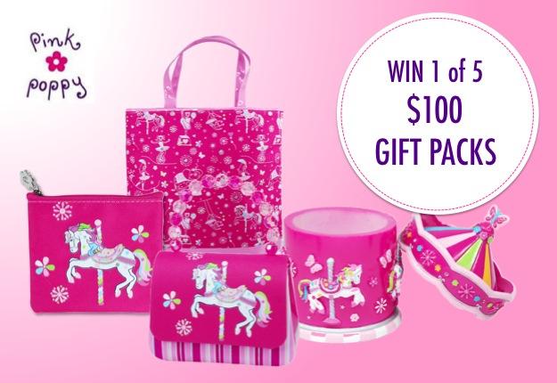 WIN 1 of 5 Pink Poppy packs