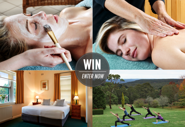 WIN a 2 night Escape Package at Solar Springs Retreat