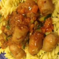 Sausage Casserole with Pasta