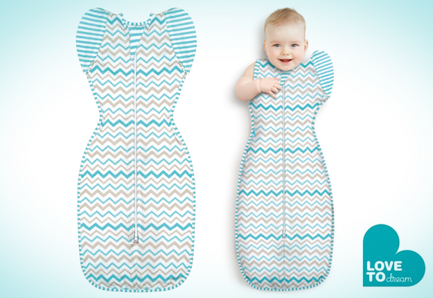 WIN 1 of 5 Love to Swaddle UP 50/50 prize packs