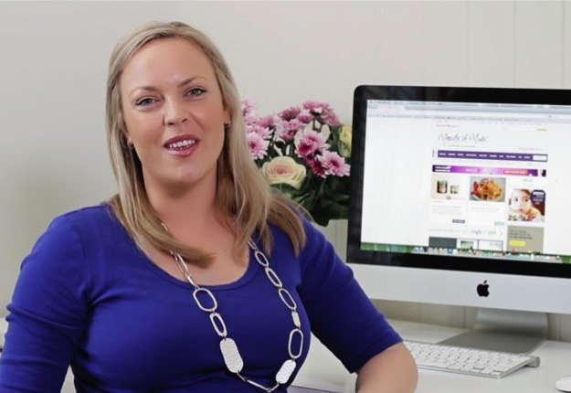 Jacinta explains how easy it is to become a Mouths of Mums member