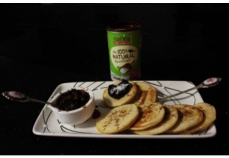 Natvia and Spice Extra Nice Pikelets