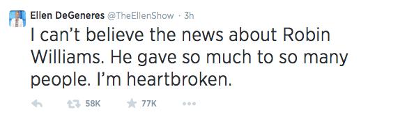 Ellen-Twitter-Robin Williams