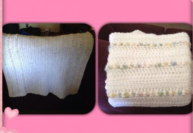 Beginners Crochet Baby Blanket