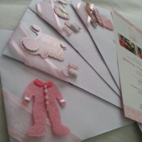 Fancy Baby Christening Envelopes