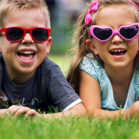 Did you know that babies and children need sunglasses?