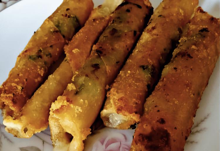 Cheesy Veggie Sticks