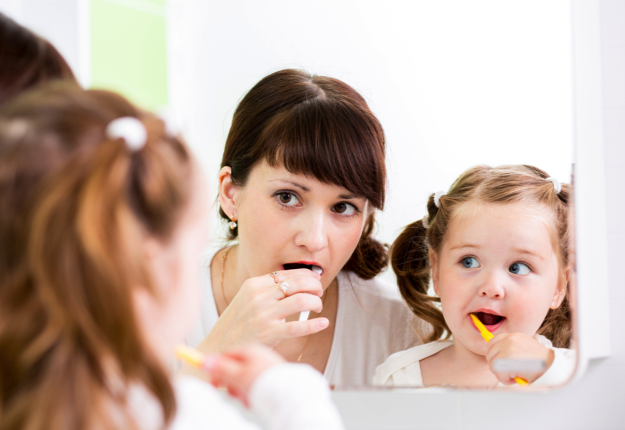 Getting your child to take care of their teeth