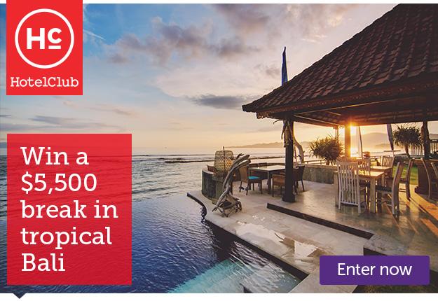 WIN a $5,500 break in tropical Bali