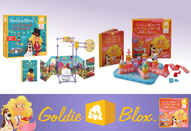 mom100226 reviewed WIN 1 of 7 GoldieBlox Prize Packs!