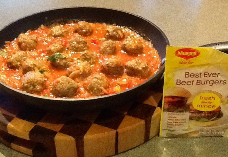 Meatballs with Homemade Tomato Sauce