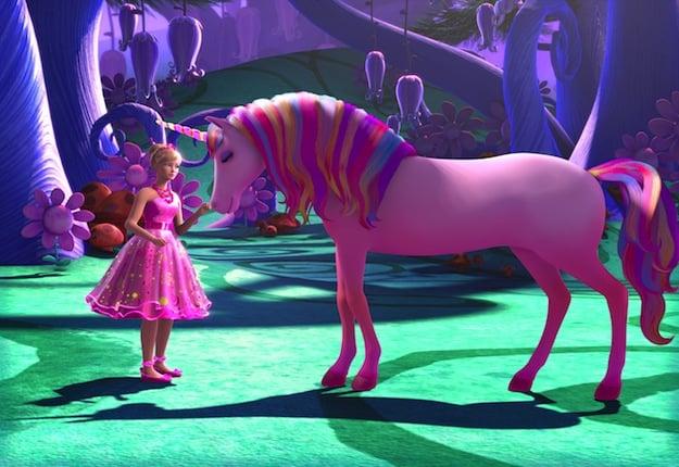 WIN 1 of 17 Barbie and the Secret Door DVDs.