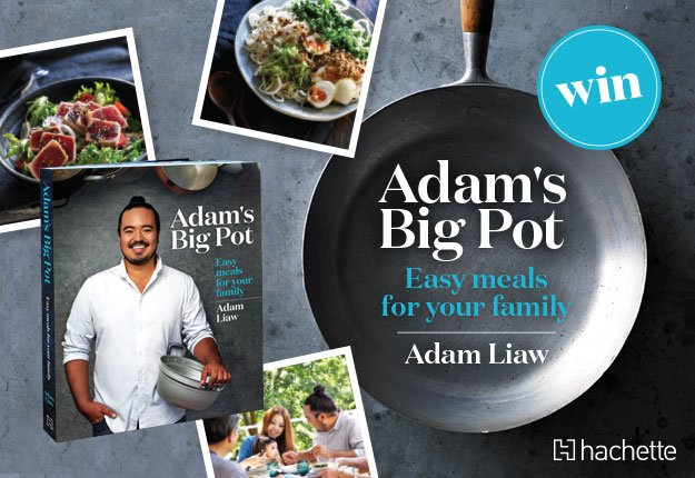 WIN 1 of 15 copies of Adam's Big Pot by Adam Liaw