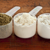 Protein powders - pea, whey, or food?